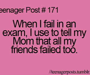 teenager post, quote, and exam image