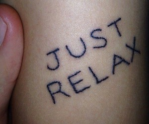 tattoo, grunge, and relax image