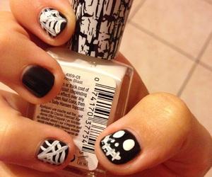 creepy, Halloween, and nails image