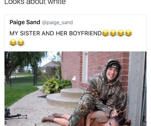crazy, white people, and funny image
