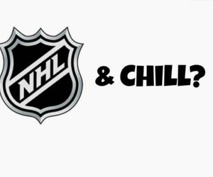 chill, hockey, and nhl image