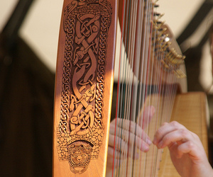 art, celtic, and music image
