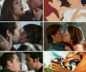 couple, teen wolf, and cute image