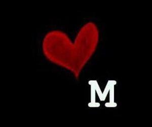 M, ميم, and حرف m image