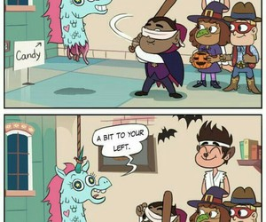 Halloween, marco diaz, and starco image