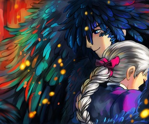 Howl, anime, and howl's moving castle image