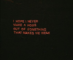 quote, sad, and néon image