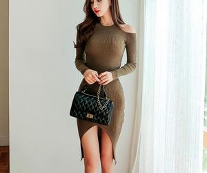 asian fashion, dress, and moda image