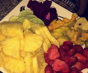 delicious, pineapple, and food image