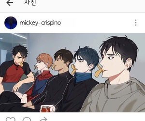 yuri on ice, yuuri katsuki, and lee seung gil image