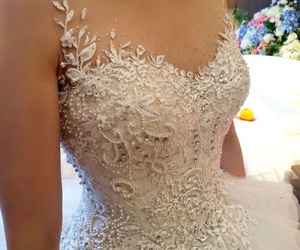 ballgown, dress, and Prom image