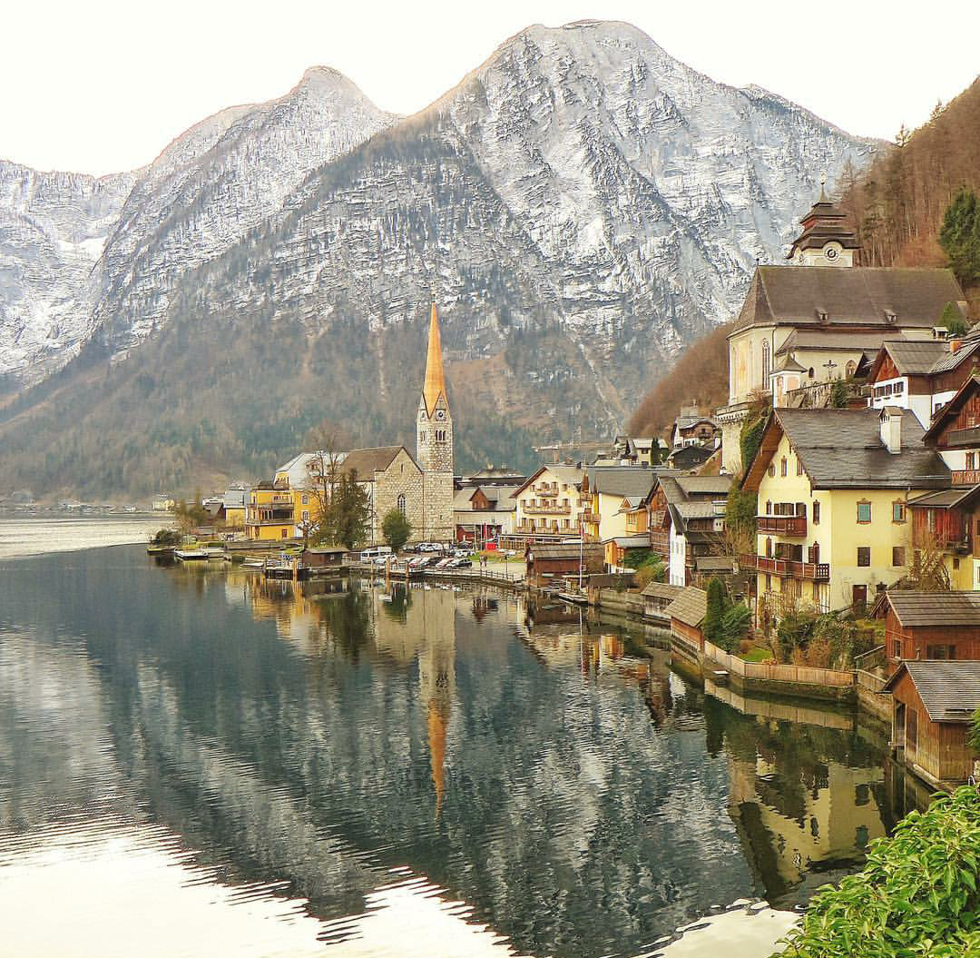 austria, autumn, and cities image