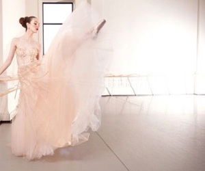 ballerina, blush, and romantic image