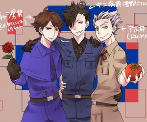 haikyuu, kuroo tetsurou, and oikawa tooru image