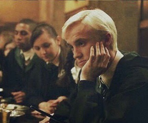 harry potter, slytherin, and tom felton image