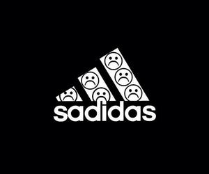 adidas, sad, and wallpaper image