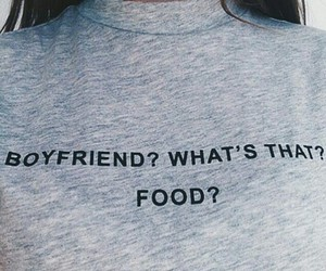 boyfriend and food image