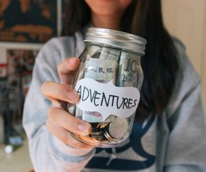 adventures, dreams, and girl image