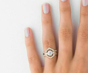 accessories, bride, and diamond image