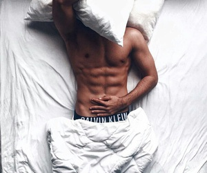 bed, Calvin Klein, and boys image