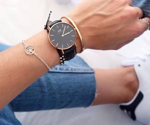 accessories, black, and denim image