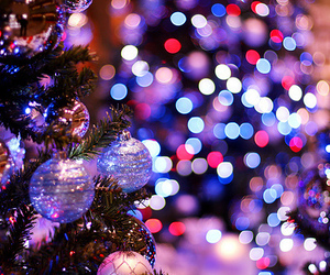christmas, holiday, and lights image