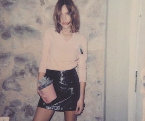 alexa chung, clothes, and fashion image