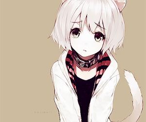 anime, neko, and kawaii image