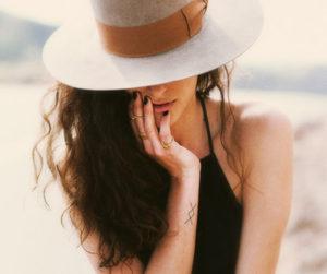fashion, hat, and tattoo image