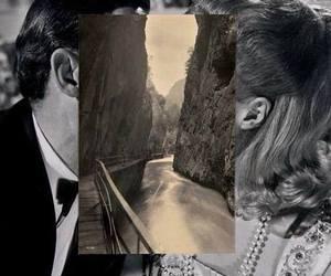 couple, kiss, and street image