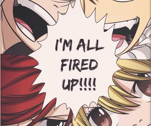 fairy tail, erza scarlet, and natsu dragneel image