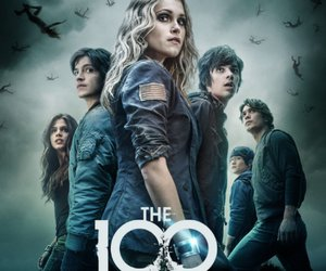 the 100, finn, and octavia image