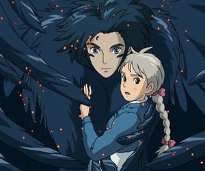 howl's moving castle, Howl, and sophie image