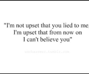 quote, lies, and believe image