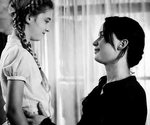 the hunger games, katniss, and prim image