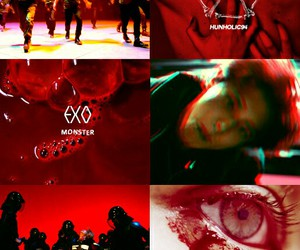 aesthetic, exo, and monster image