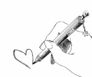 heart, manga, and anime image