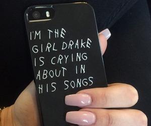 Drake, nails, and case image