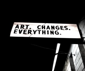 art, quotes, and black image