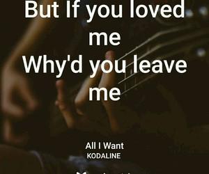 Lyrics, kodaline, and songs image