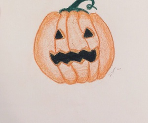 drawing, Halloween, and scary image