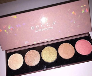 makeup, beauty, and becca image