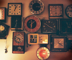 beautiful, clocks, and hipster image