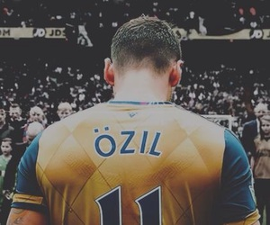 Arsenal, Özil, and football image