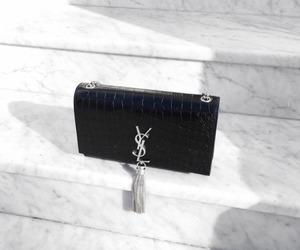 black, fashion, and YSL image