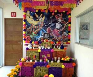 flores, altar de muertos, and noviembre 2 image