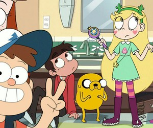 adventure time and gravity falls image