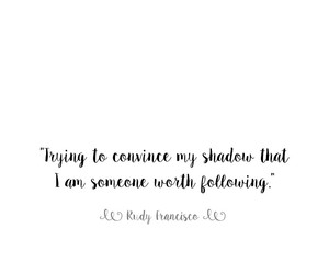 quote, sayings, and shadow image