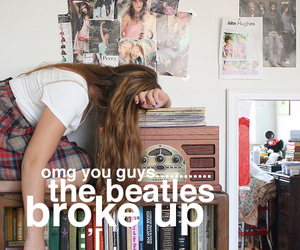 band, beatles, and funny image