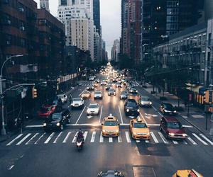 city, car, and travel image